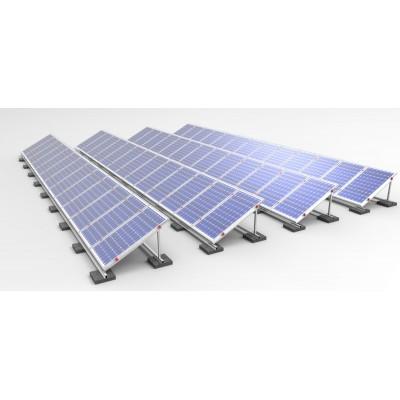 Estructura de aluminio INCLINADA  (1xPanel)