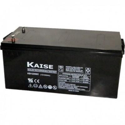 Batería Monobloque GEL KAISE 12V 250Ah C100