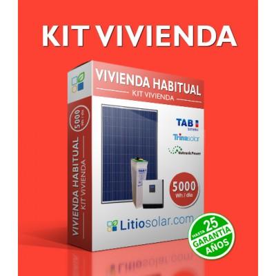 Kit VIVIENDA - 5000Wh/día