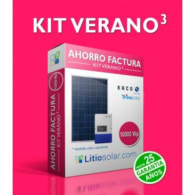 Kit VERANO³ - 10000 Wp (Trifásico)