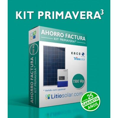 Kit PRIMAVERA³ - 7500 Wp (Trifásico)