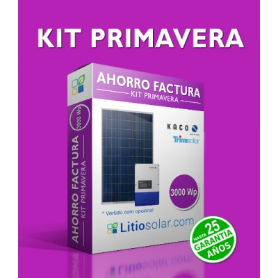 Kit PRIMAVERA - 3000 Wp