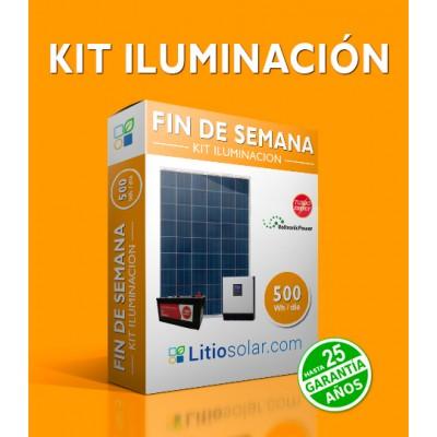 Kit ILUMINACIÓN- 500Wh/día