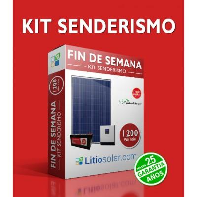 Kit SENDERISMO- 1200Wh/día