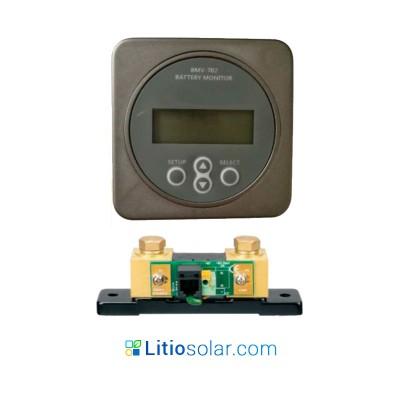 Battery controller + Shunt (9-99Vdc)