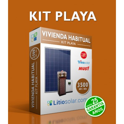 Kit PLAYA - 3500Wh/día