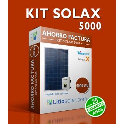 KIT SOLAX 5000Wp