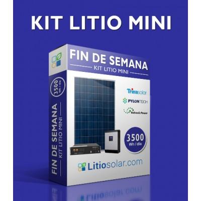 Kit LITIO MINI - 3500Wh/día