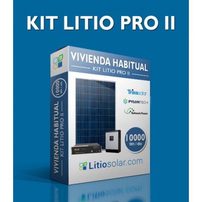 Kit LITIO PRO II - 10000Wh/día