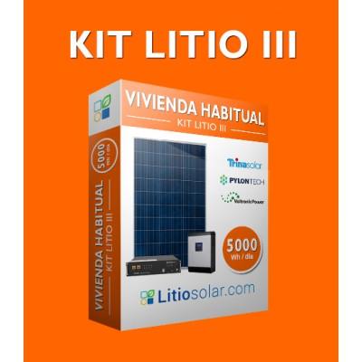 Kit LITIO III - 5000Wh/día