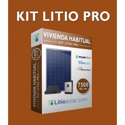 Kit LITIO PRO - 7500Wh/día