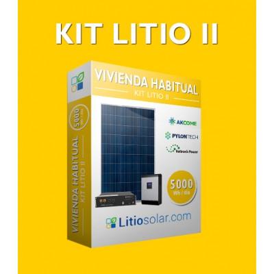 Kit LITIO II - 5000Wh/día