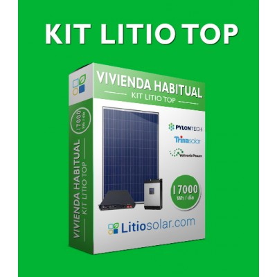 Kit LITIO TOP - 17000Wh/día