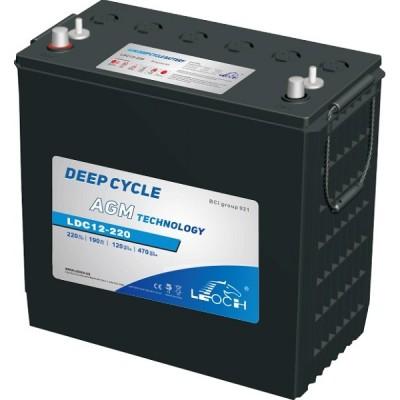 Batería Monobloque AGM LEOCH 12V 245Ah C100