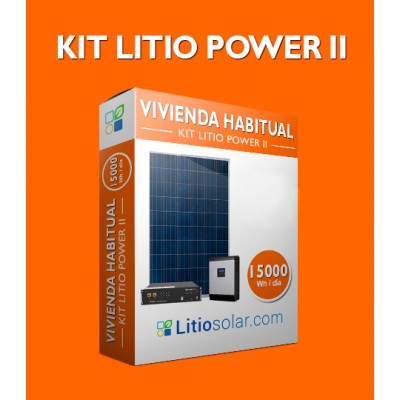 Kit LITIO POWER II - 15000Wh/día