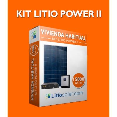 Kit LITIO POWER II - 15000Wh/día
