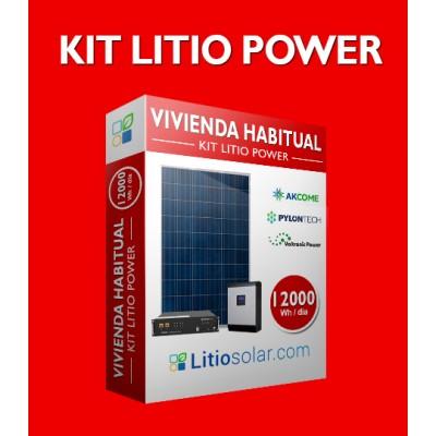 Kit LITIO POWER - 12000Wh/día (Pago 1 de 2_ALEXANDER CONDORI NOGALES)