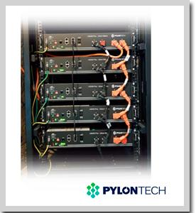Baterías de LifeP04 PYLONTECH