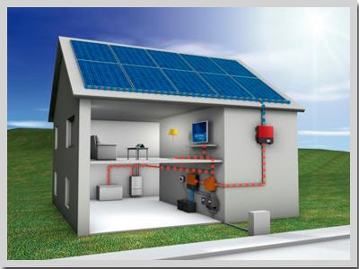 Kit solar Vivienda Aislada